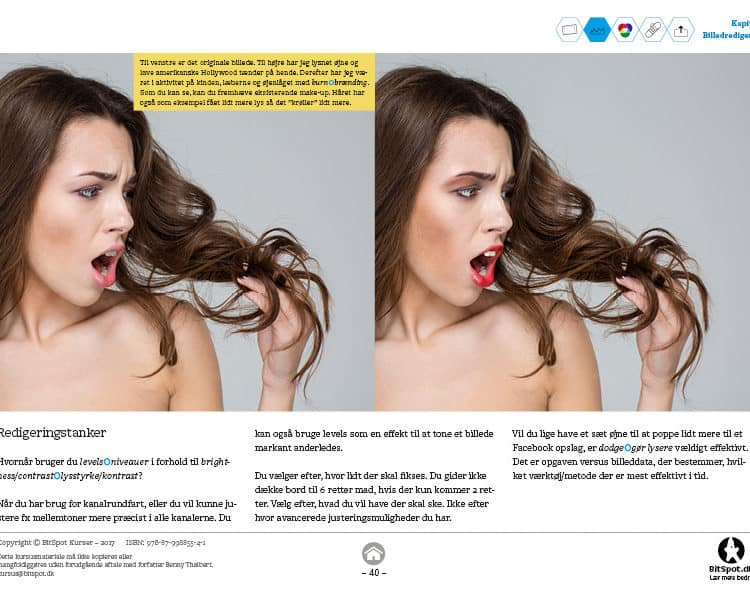 Photoshop kursus retouch