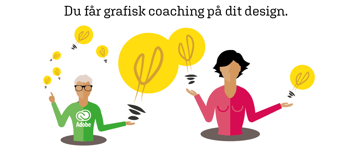 grafisk coaching adobe kurser