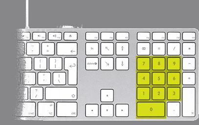 keyboard-numpad-keys