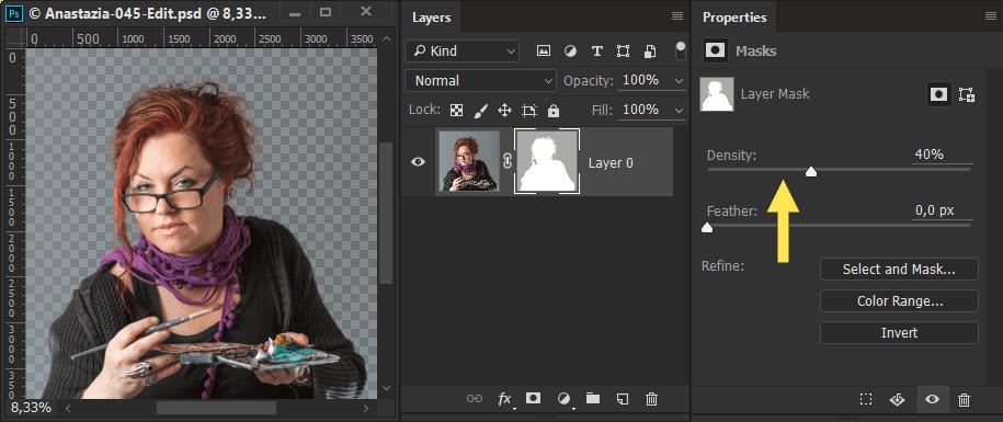 Photoshop Maske