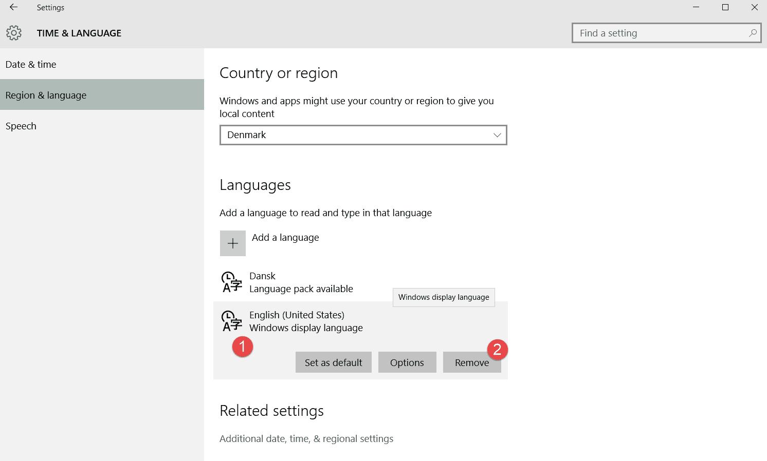 kan man afinstallere windows 10