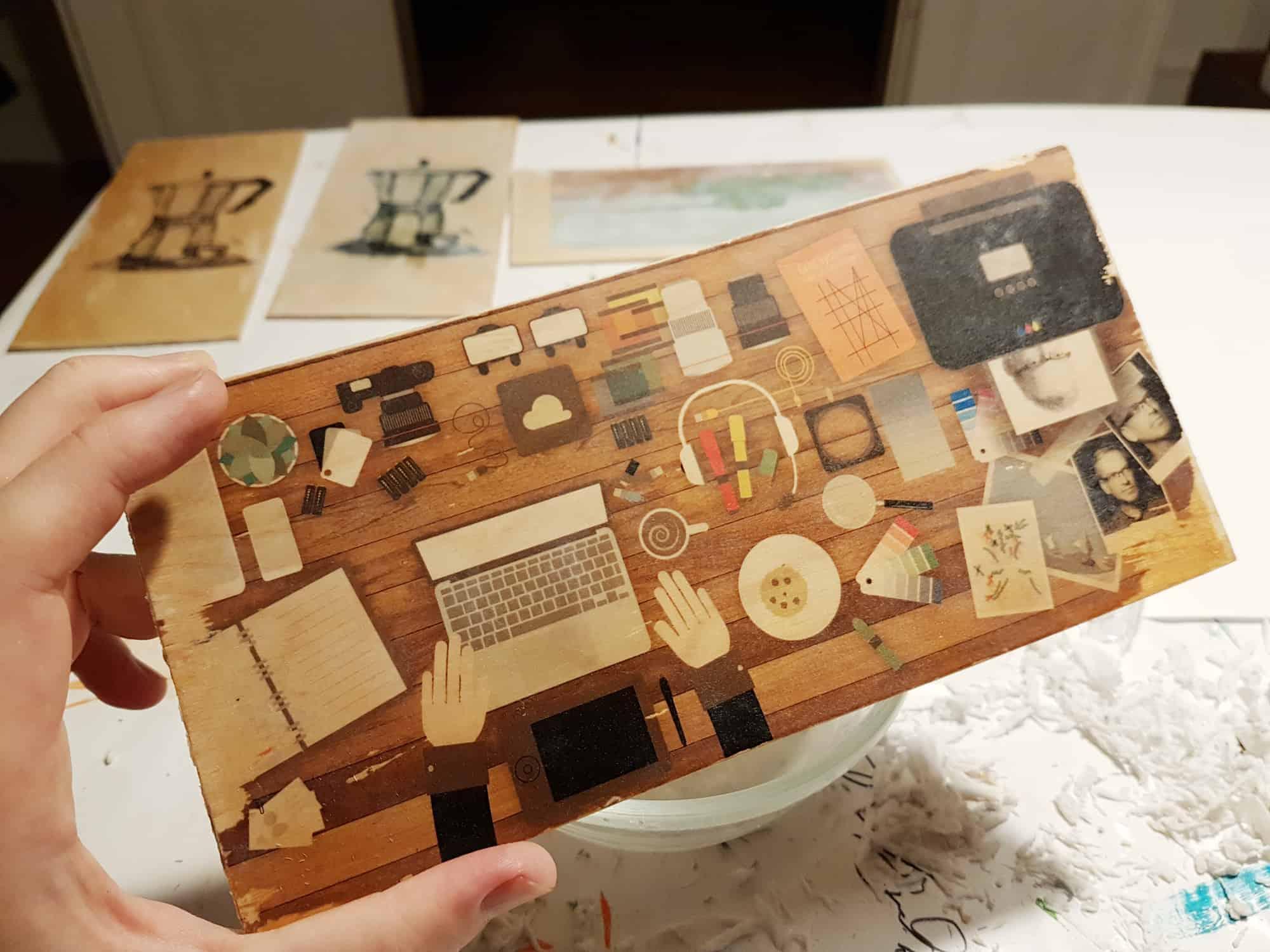Photo of Sådan overfører du print til træplade