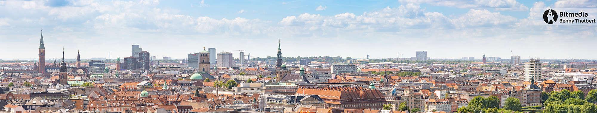 Panorama fra Marmorkirken.