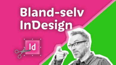 Photo of Bland selv InDesign kursus