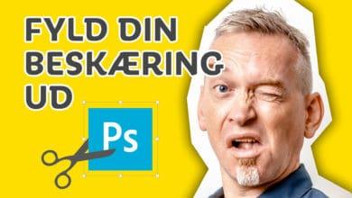 Photoshop beskæring tips fra Benny Thaibert