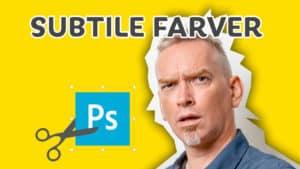 Bedre farver med photoshop