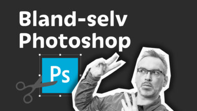 bland selv photoshop kursus