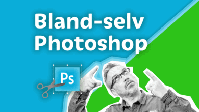 Photo of Bland selv Photoshop kursus