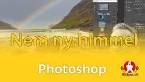 Nem ny himmel med photoshop