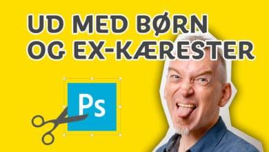 Photo of Fjern mennesker fra billeder