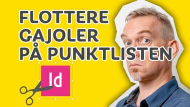 Photo of Flotte punktlister med InDesign