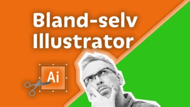 Photo of Bland selv Illustrator kursus