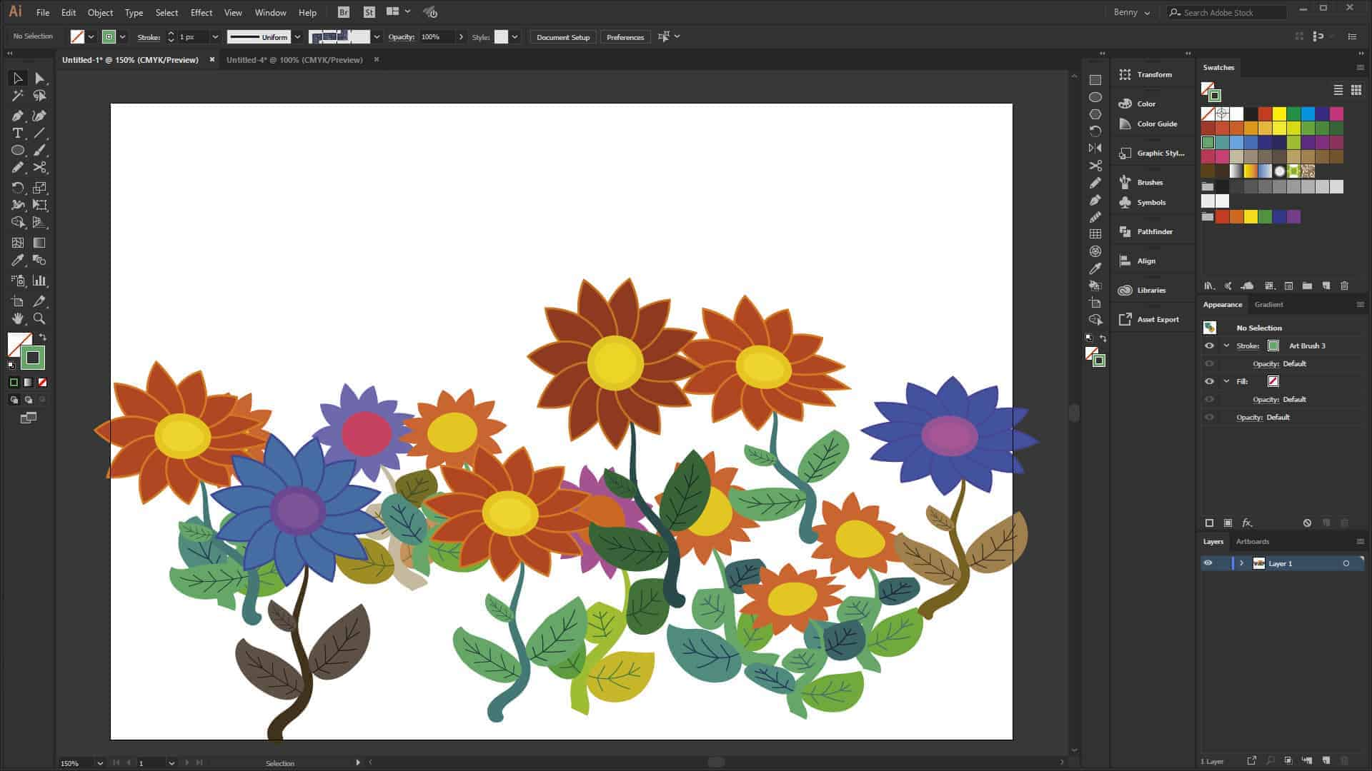 Photo of Illustrator video: Brug grafik som pensler i Illustrator