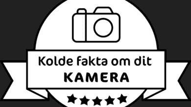 kolde fakta om dit kamera