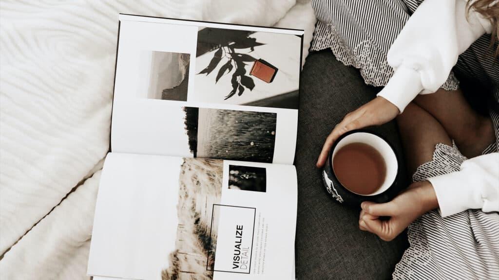 Et prøvetryk kan være en stor hjælp til at finde de sidste fejl i et boglayout.