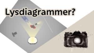 lysdiagram til fotografer